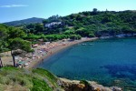 Directly on seaside on Barbarossa beach campsite Arrighi