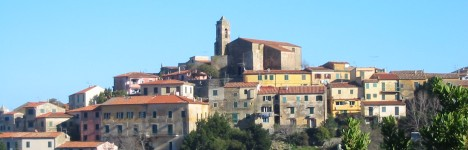 Restaurants and pizzerias on the island of Elba.